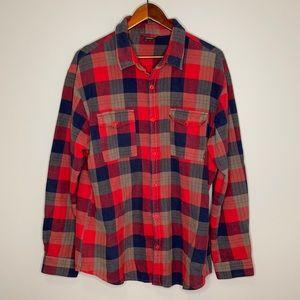 NIKE 6.0 retro retired button flannel shirt XL